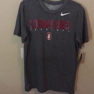NWT Men's dri-fit Nike Stanford t-shirt